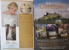 Our gorgeous new advert... Llandeilo and Huw Rees Brides are well worth a visit.