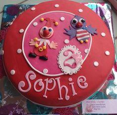 Jokie en Jet taart Cupcakes, Cupcake Cakes, Trick Or Treat, Birthday Cake, Treats, Desserts, Sweet Like Candy, Tailgate Desserts, Goodies
