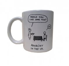 'Anarchy in the UK' by Hugleikur Dagsson - on a mug! Now we're talking!