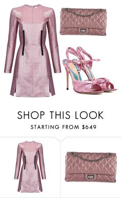 """Metallic babe"" by subvilli ❤ liked on Polyvore featuring Carven, Chanel and Gucci"
