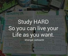 Study Quotes by KhanGal (Me) 🎓 - Studying Motivation Exam Motivation, Study Motivation Quotes, Study Quotes, Hard Quotes, Student Motivation, Motivation Inspiration, Life Quotes, School Quotes, College Quotes