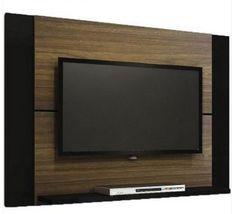 Compre já o seu Painel Para Tv Louvre Imbuia & Preto Multivisão, por R$ 169,00.
