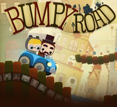 Cute iPhone game Bumpyroad