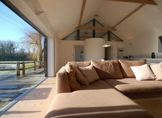 Listed Barn Conversion Suffolk to Best of Suffolk Holiday Let living room
