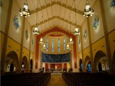 Catholic Church of St Mary Cathedral of Archdiocese of Miami USA
