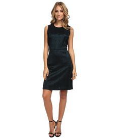 Marc New York by Andrew Marc Marc New York by Andrew Marc  Sleeveless Lace Dress MDLK Malachite Womens Dress for 59.99 at Im in! #sale #fashion #I'mIn