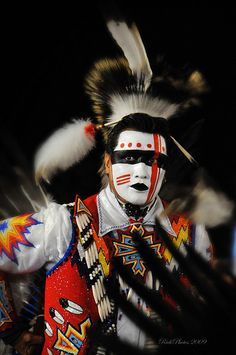 Native American Dancer.