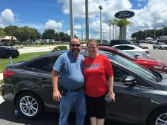 """Ms. Harmon came into Lakeland Automall in the hopes of finding a new vehicle. With the help of salesman Blake Hollingsworth, Ms. Harmon left with a brand new 2016 Ford  Focus! """"Blake was very helpful and I didn't feel pressured or hurried to make a decision. Thank you!"""" We really appreciate your business here with us! We hope that you are enjoying your new  Ford Focus and please; if there is anything that we can do, don't hesitate to ask… We are here to help! #LakelandAutomall #LakelandFord…"""