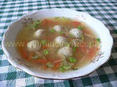 Kvasnicové knedlíčky Soup, Ethnic Recipes, Soups, Chowder