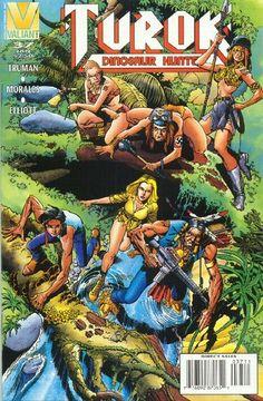 Cover for Turok, Dinosaur Hunter (Acclaim / Valiant, 1993 series) #37