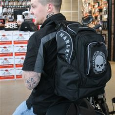 Harley-Davidson Skull Deluxe Backpack
