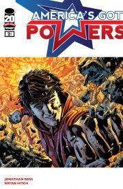 America's Got Powers #2 (of 6)  A generation of super-powered teens battle to be The Hero on the biggest TV event in history but Tommy Watt's dreams of fame and fortune might be over even if he survives The Trials. Someone is coming and he's going to destroy the show and everybody in it!