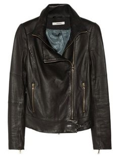 Smooth leather Bing:Karle leather biker jacket, $1,795, J Brand, net-a-porter.com