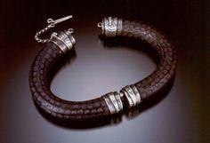 Celie Fago Hinged Bracelet Photo by Robert Diamante