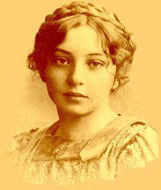 Sigrid Undset, winner of the Nobel Prize in literature, 1928.