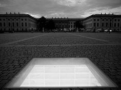 Book burning memorial at the Bebelplatz in Berlin