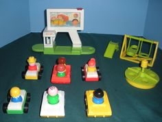 Drive in Movie! I still have all my old Fisher Price toys for my grandkids to play with when they come over....40+ years old and still holding!