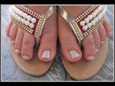 Dúvidas de Manicure #6 - Removendo as cutículas dos pés - YouTube