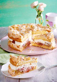 Die 72 Besten Bilder Von Rhabarber Baiser Kuchen Cake Recipes