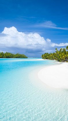 Cook Islands All shades of blue - a colour you will never tire of Beautiful Places To Travel, Beautiful Beaches, Beautiful Ocean, Beach Pictures, Nature Pictures, Beach Scenery, Ocean Wallpaper, Beach Landscape, Tropical Beaches