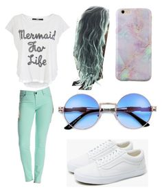 """""""Summertime Outfit"""" by caseyanne18 on Polyvore featuring Iron Fist, KUT from the Kloth and Vans"""