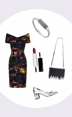 """Indie Babe from Red Carpet Outfits, According to Your Music Taste  """"Tailoring can take your look from drab to fab and it needn't break the bank,"""" explained the expert.Fitbit Flex 2 Bangle in Stainless Steel, $89.95; Zara Laminated High-Heel Shoes, $59.90; Paper Dolls Black Abstract Dress, $89; Rebecca Minkoff 'Sofia' Clutch, $245; Givenchy Beauty Rouge Interdit Satin Lipstick, $33*Fitbit Flex 2 tracker not included"""