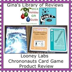 #Hgg2014 Looney Labs Chrononauts Game. Great for that history buff in your life.