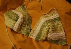 Free Crochet Bikini Pattern-- a good starting point for summer tops