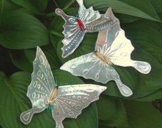 "How to Make Punched ""Tin"" Butterflies 