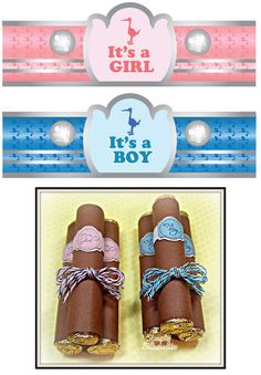 Baby Party Favors, Baby Shower Favors, Baby Shower Gifts, Baby Birth, Baby Crafts, Hello Everyone, Cigars, Cake Pops, Grandkids