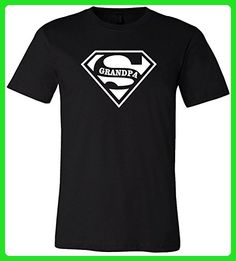 Super Grandpa T-Shirt Birthday shirt Fathers Day Gift Funny Shirt (X-Large) - Birthday shirts (*Amazon Partner-Link)