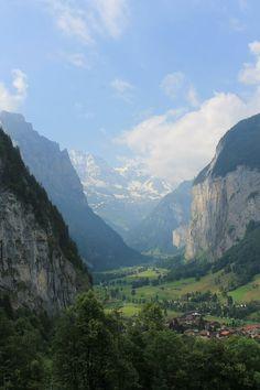 Lauterbrunnen Valley, Switzerland - June 2014