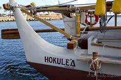 The HOKULE'A Polynesian Voyaging Canoe