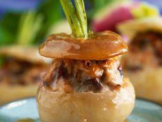 Découvrez la recette Navets farcis sur cuisineactuelle.fr.