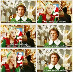 #Elf - Will Ferrell and Zooey Deschanel <3
