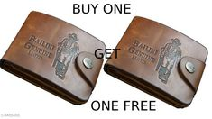 Checkout this latest Wallets Product Name: *FASHLOOK BUY ONE GET ONE FREE BAILINI WALLET* Material: Leather No. of Compartments: 5 Pattern: Solid Multipack: 2 Sizes: Free Size (Length Size: 12 cm, Width Size: 10 cm)  Easy Returns Available In Case Of Any Issue   Catalog Rating: ★3.9 (3154)  Catalog Name: FancyModern Men Wallets CatalogID_1431744 C65-SC1221 Code: 422-8486488-999