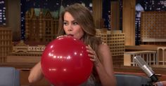 Sofia Vergara on Helium Is the Best Video You'll See All Day.