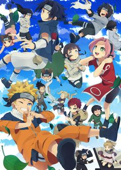 Image discovered by Inuka . Find images and videos about anime, naruto and hinata on We Heart It - the app to get lost in what you love. Otaku Anime, Anime Naruto, Anime Chibi, Naruto Cute, Naruto Shippuden Sasuke, Naruto Und Hinata, Naruto Sasuke Sakura, Shikamaru, Sakura Haruno