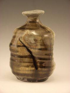 Wood Fired Native Clay Vessel by firebugpotter on Etsy