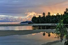 The sunrises alone are worth the trip to Kosrae.