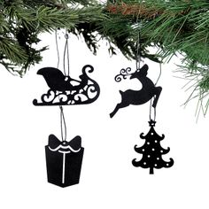 Mini Laser-Cut Ornaments - OrientalTrading.com