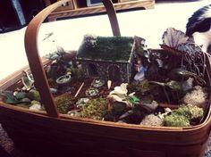 My second fairy garden