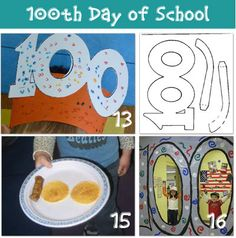 100th Day of School Ideas from Tip Junkie