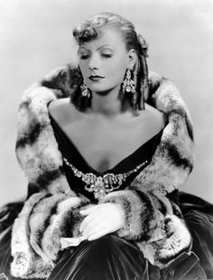Greta Garbo in CHINCHILLA Fur