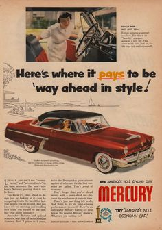 Mercury - Really New, Not Just for '52 | Flickr - Photo Sharing!