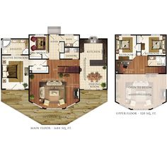 Beaver Homes and Cottages - Taylor Creek III Floor Plan