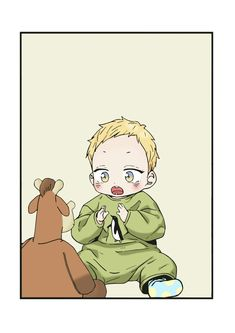 Anime Bl, Otaku Anime, Manhwa, Cute Anime Pics, Cute Anime Boy, Cutest Babies Ever, Comics Love, Familia Anime, Anime Family