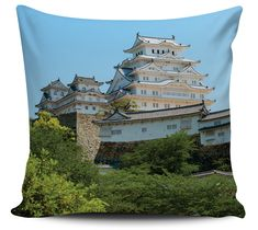 Almofada Decorativa Himeji Castle Japao