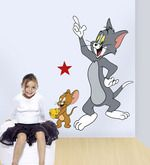 Buy Gloob Decal Style Tom And Jerry Wall Sticker By Gloob Online From  Pepperfry. ✓ Part 96