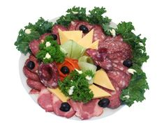 Cold cuts include sliced meats and cheeses that you can eat cold from the package or deli counter. They serve as convenient choices for platters at parties and quick bites when you're on the go. ...